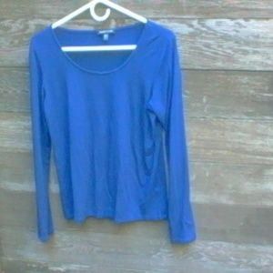 Eileen Fisher Midnight Blue Top